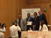 Pau Morales, investigador del CENIT, accèssit als XIV premis de la càtedra Abertis per la seva tesi sobre Short Sea Shipping i Autopistes del Mar.