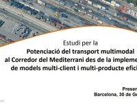 Presentació del CENIT a la jornada de treball del Comitè de Serveis Multimodals