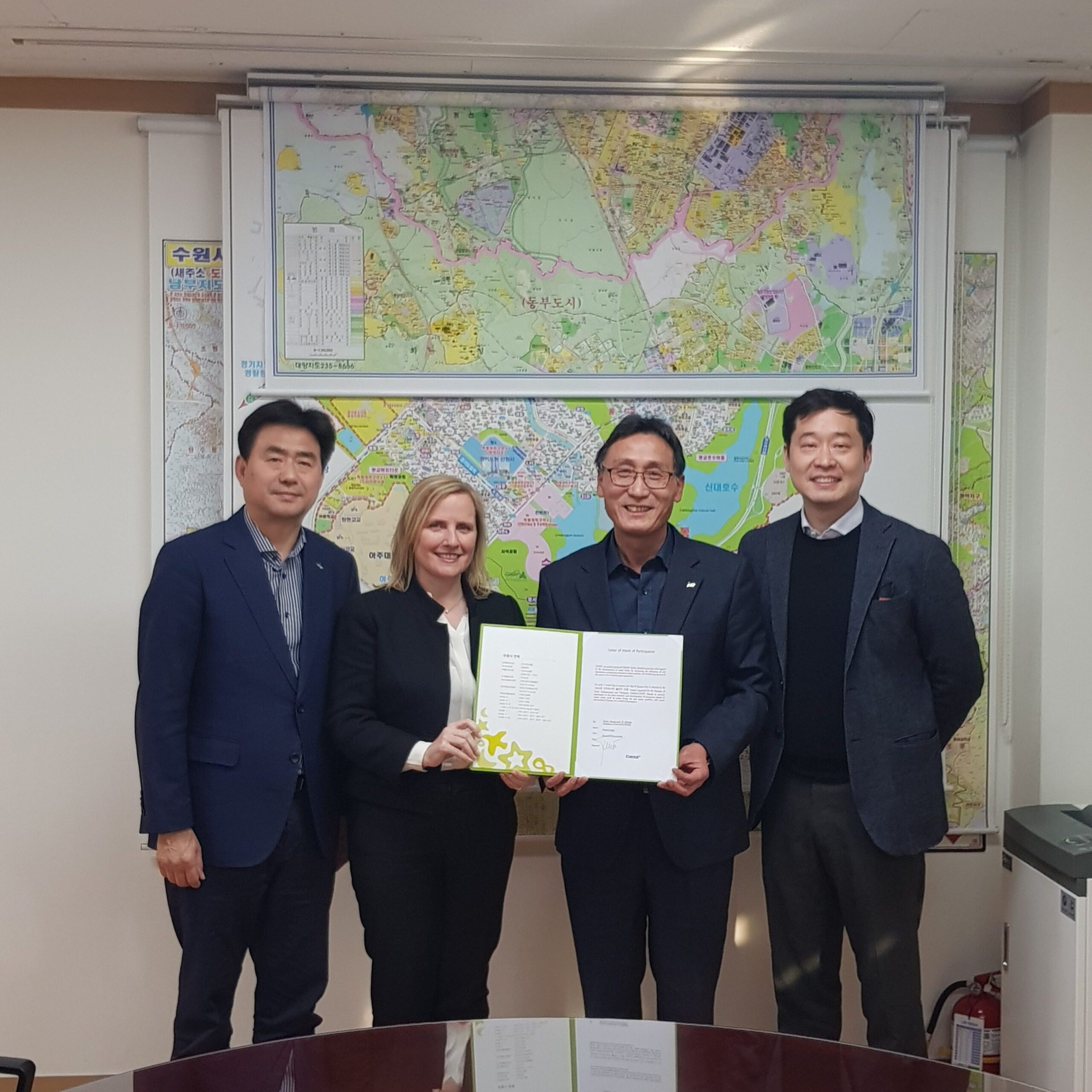 CENIT signs Letter of Intent in South Korea