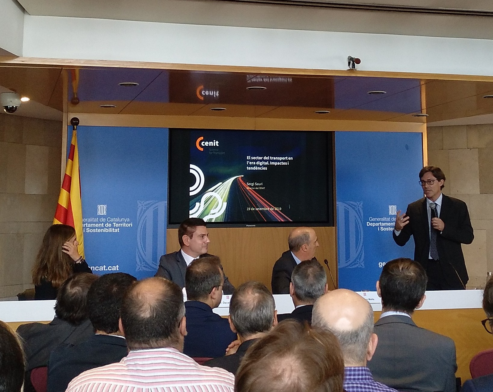 CENIT participates in the presentation of the transport digitalization observatory