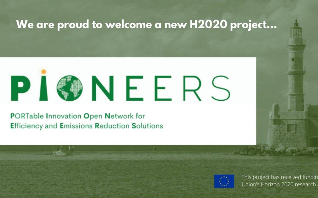 PIONEERS consortium awarded 25M€ Horizon 2020 grant