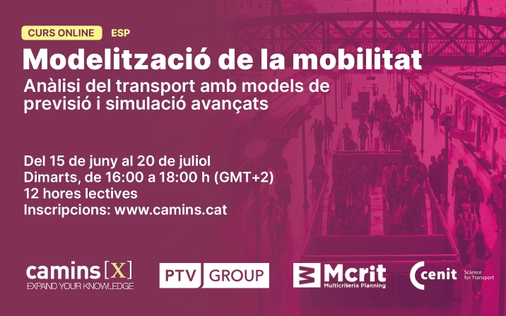 Mobility modelling training led by CENIT's ITS expert Francisco Rodero